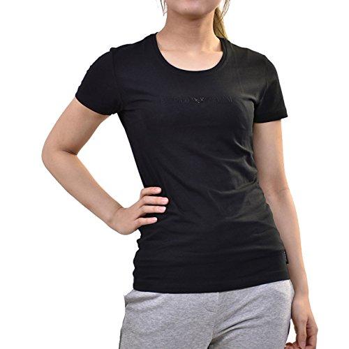 ますますギャロップ因子(エンポリオアルマーニ) EMPORIO ARMANI 半袖クルーネックTシャツ XS ブラック [並行輸入品]