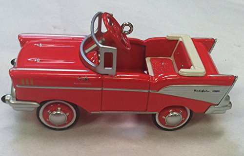 Hallmark QEP2179 Kiddie Car Classics - 1957 Chevrolet Bel-air Red Ornament