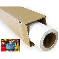 24 x 5 Yard White Printable Heat Transfer Vinyl Iron-On T Shirts Caps Bags