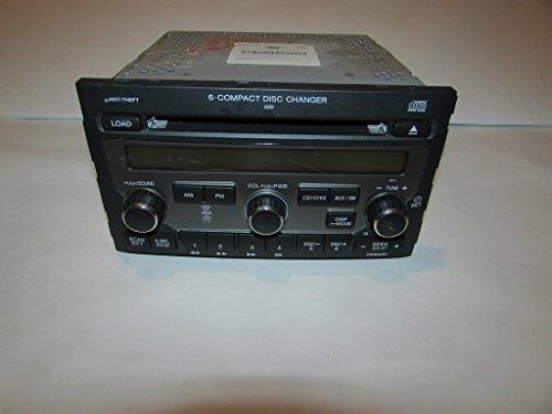 - 06-08 Honda Pilot EX 4WD Radio CD Player XM Ready