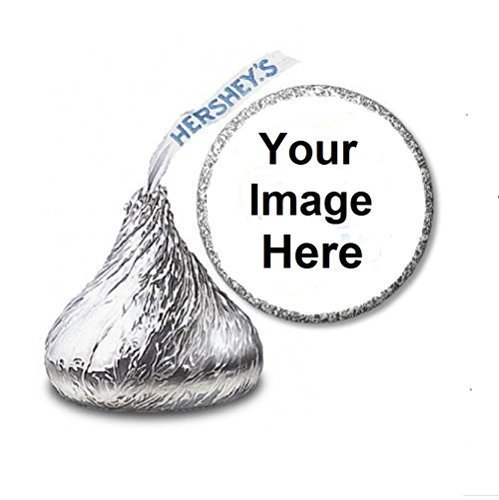 108 Custom Personalized Labels/Stickers for Hershey's Kisses Candies - Party Favors by JS&B -