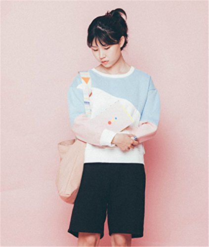 GirlBossy Shoulder Daily Cotton Purses Casual Hobo Women's Handbags Pink Ladies Canvas Shopping Totes Bags rrwqPgxU