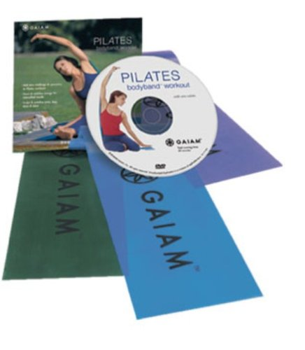 Gaiam Pilates BodyBand Workout Kit