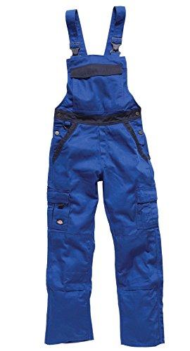 Dickies Salopette de travail deux tons IN30040, couleur:bleu barbeau/marine;pointure:46L