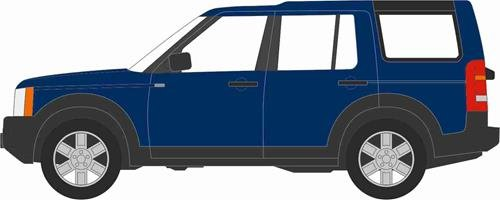 006 Land Rover Discovery Lr3 Cairns Blue Metallic 1:76 (Discovery 1 Models)