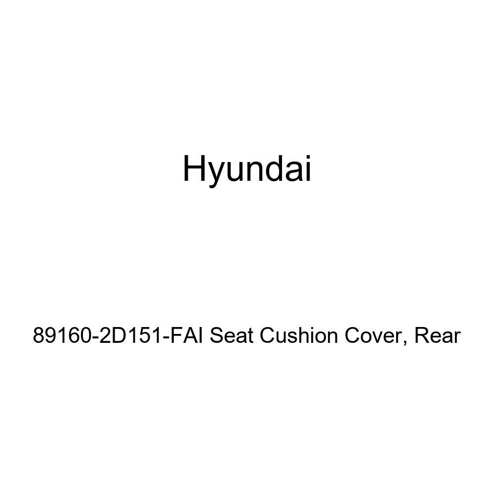 Rear Genuine Hyundai 89160-2D151-FAI Seat Cushion Cover