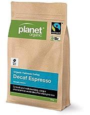 Planet Organic Espresso Decaf Whole Bean Coffee, 250 g