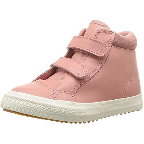 Converse Boys' Chuck Taylor All Star 2V High Top Boot Sneaker, Rust Pink/Burnt Caramel, 10 M US Toddler ()