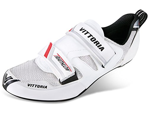 Vittoria THL Nylon Cycling Shoes, White, 41.5 EU/8.25 D US by Vittoria