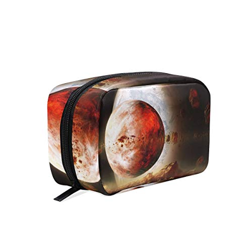 Cosmetic Makeup Bag Pouch Science Space Fantasy Art Artwork Futuristic Clutch ()