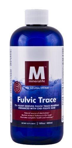 Liquid Ionic Fulvic Trace Formula (16oz-48 Day Supply)