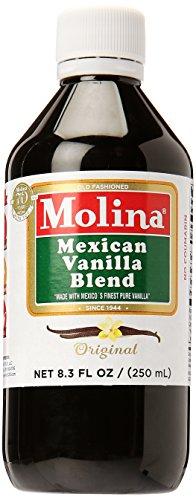 (Molina Vanilla - Mexican Vanilla 8.3 FL oz / 250 ml)