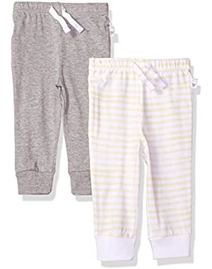 Baby 2 Pack Organic Jogger Pants