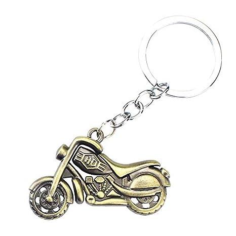 Amazon.com: SaveStore - Llavero con colgante de moto de ...