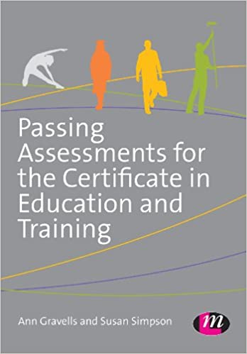 Amazon passing assessments for the certificate in education and amazon passing assessments for the certificate in education and training ebook ann gravells susan simpson kindle store fandeluxe Choice Image