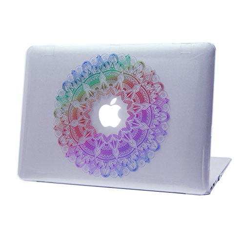 HDE MacBook Rainbow Mandala Designer