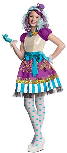 Girl Swamp Monster Costume (884911 (12-14) Madeline Hatter Costume)