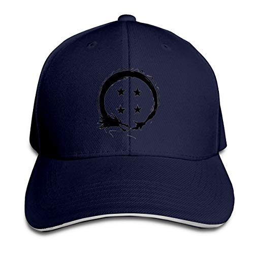 William A Magee7 Unisex Team Four Star Convenient Headgear Navy
