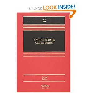 Civil Procedure Cases and Problems Allan Ides and Christopher N. May