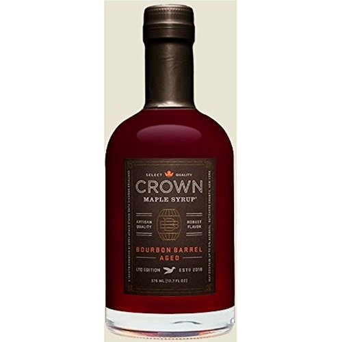Crown Maple Syrup, Bourbon Barrell Aged, 12.7 Oz (Pack of 6) by Crown Maple