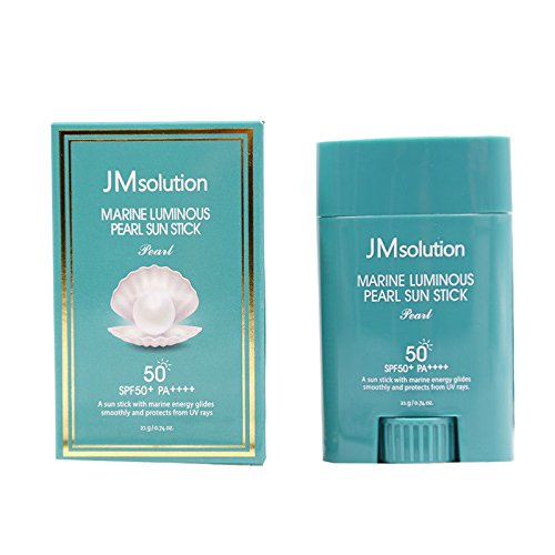 JM solution Marine Luminous Pearl Sun Stick SPF50+PA++++ 21g For Outdoors