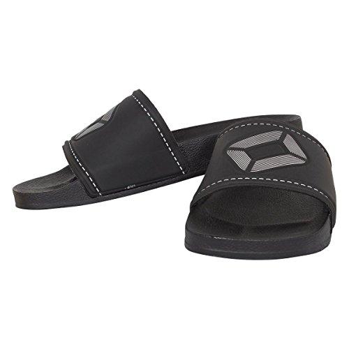 Stanno Comfort Badelatsche - black schwarz