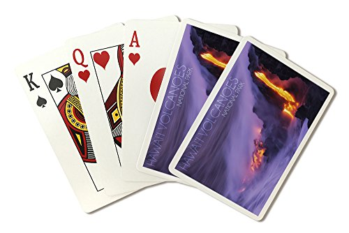 - Hawaii Volcanoes National Park - Lava Flow (Playing Card Deck - 52 Card Poker Size with Jokers)