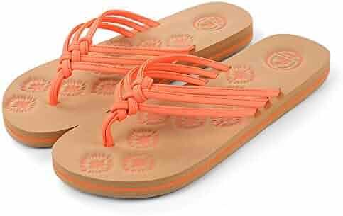 e6471a1f0974ea Aerusi Livi Life Flip Flop Sandals