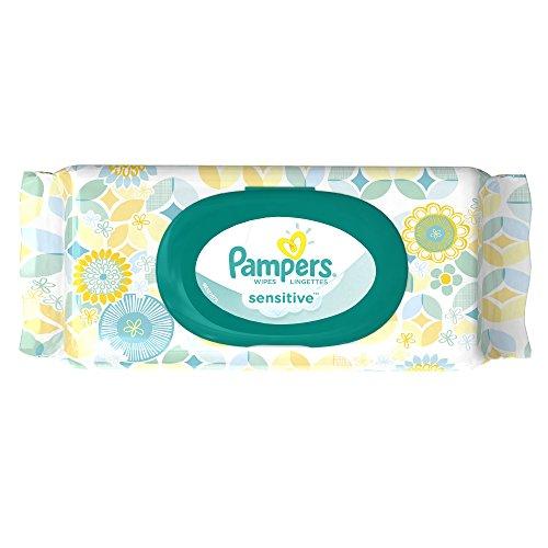 Pampers toallitas sensible viaje Pack 56 Conde, (paquete de 8)