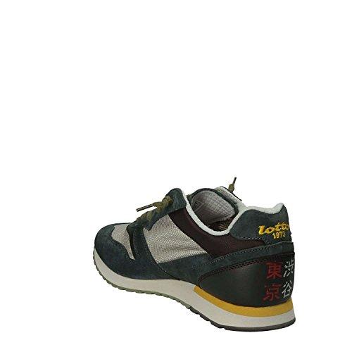 Blu 42 Grigio T4582 Tokyo Blu Sneakers Lotto Ginza t1FqYA