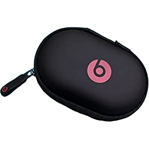 Black Zipper Earphones Carrying Case for Beats Monster by Dr.Dre , Power Beats 2, Power Beats Wireless, Tour , Heart Beats by La