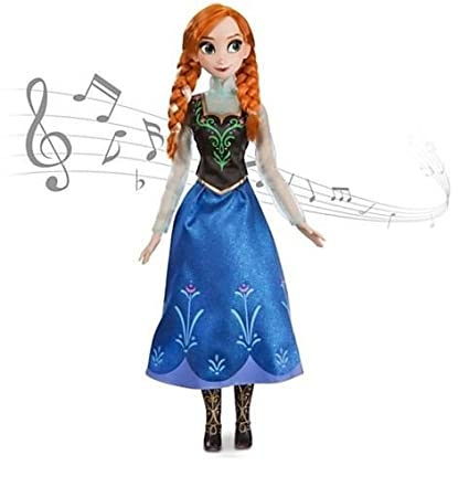 Amazon.com: Muñeca tienda de Disney Frozen cantando Big luz ...