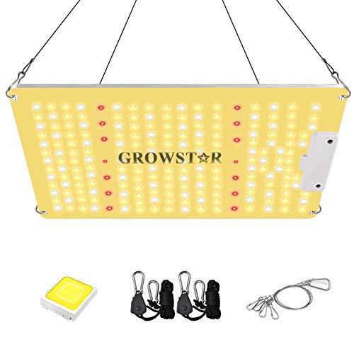 Growstar Newest 1000w Led Grow Light with Full Spectrum Wavelength, High ppfd and Ir Grow Lamp for 2x2ft Indoor…