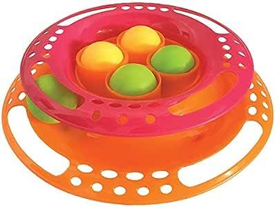 SCREAM Cat Toy, Loud Orange Pink