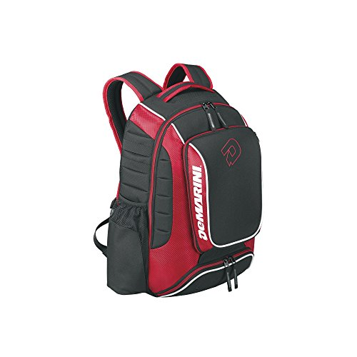 DeMarini WTD9407SC Momentum Backpack, Scarlet