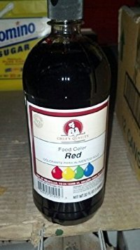 Chef's Quality: Red Food Color 32 Oz (6 Pack)