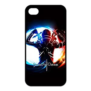 Sword Art Online iPhone 5s Cases TPU Rubber Hard Soft Compound Protective Cover Case for iPhone 5 5s by runtopwell
