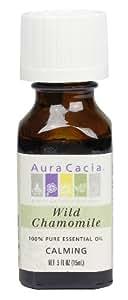 Aura Cacia Essential Oil, Calming Wild Chamomile, 0.5 fluid ounce