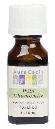 Aura Cacia Essential Oil, Calming Wild Chamomile, 0.5 fluid ounce Review