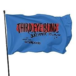 Knbro Third Eye Blind Flags 3x5 Foot Pol...