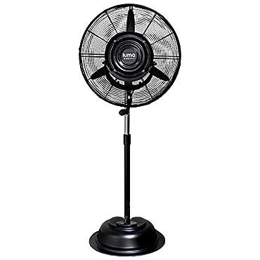 Luma Comfort MF24B 24inch Commercial Misting Fan