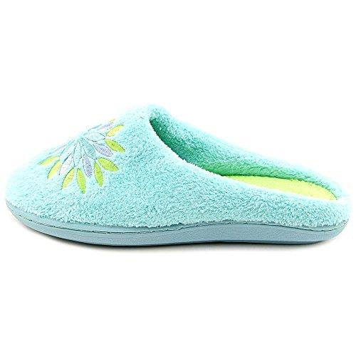 891ba234e5c1 Tender Tootsies l16000-trq Women Round Toe Canvas Blue Slipper new ...