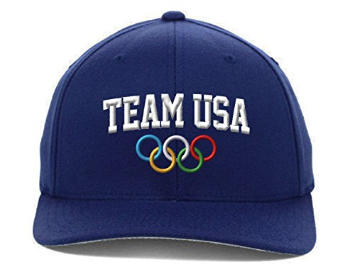 Team USA Flexfit-Navy-L-XL ()