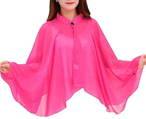 競争力のあるランク硬いサンプロテクション服女性の日焼け止めショール薄手コート [F]