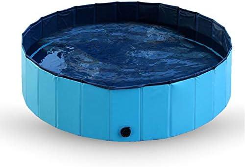 N-X Piscina para Mascotas Jardín Plegable de Verano al Aire Libre Piscina para Perros y Gatos Bañera Interior (120 * 30 mm): Amazon.es: Productos para mascotas