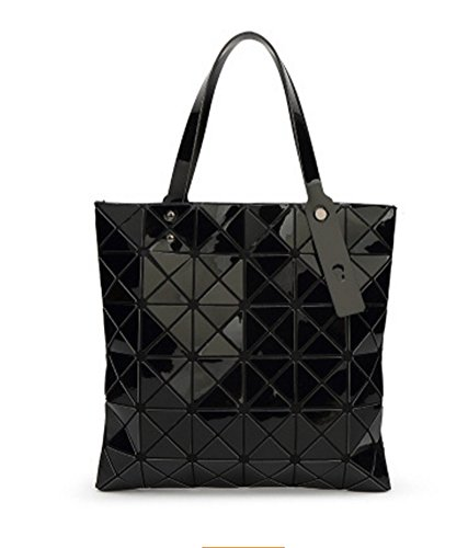 black Bolso Lingge Diamond Geometry de silver hombro Bag Bolso BAO Personalidad la de Lady Bag moda BnRSUqwZW