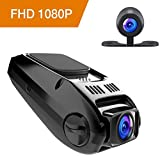 APEMAN Dash Cam FHD 1080P Car Camera with Metal Design,3.0 inch LCD Screen,170° Wide Angle,Night Vision,Loop Recording,G-Sensor,Motion Detection (C570)
