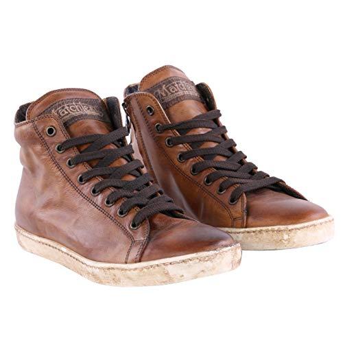 Cuero Marrone Donna Matchless Sneaker Antique qEIww7