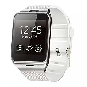 Amlaiworld GV18 Bluetooth GSM NFC cámara de la tarjeta del TF SmartWatch para el iPhone
