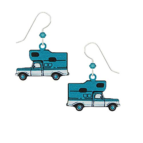 RV Pick-up Camper Van Earrings with Gift Box and Organza Pouch
